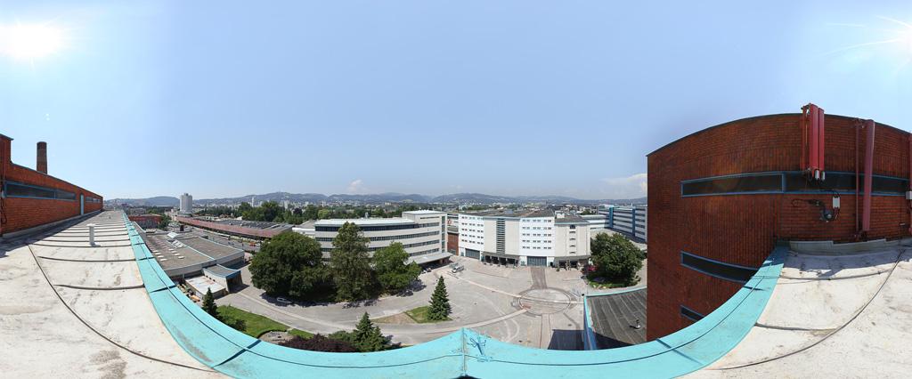 Tabakfabrika Panorama Außenaufnahme
